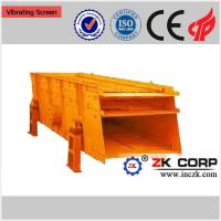 Buy cheap Double Deck Vibrating Screen / Linear Vibrating Screen for Ore Dressing from wholesalers