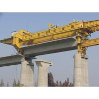 Buy cheap Large Girder Gantry Crane , bridge girder launcher 20ton - 900ton  with Electric Hoist from wholesalers