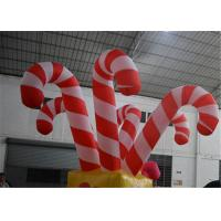 Buy cheap Giant Colorful Inflatable Christmas Stick / Inflatable Candy Cane Stick / Inflatable Walking Stick from wholesalers