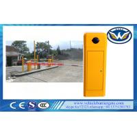 Buy cheap Classic Model Toll Barrier Gate 8 Meters Boom Length With Adjustment Running Speed from wholesalers