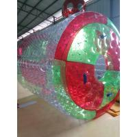 Buy cheap 0.8 MM PVC Inflatable Water Toys / Inflatable Walking Roller With Air Pump from wholesalers
