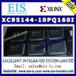 Buy cheap XC95144-10PQ160I - XILINX -  IC CPLD 144MC 10NS 160PQFP product