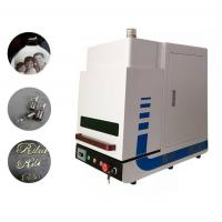 Buy cheap Enclosed Desktop Type MINI Fiber Laser Marking Machine for Industrial Marking 20W from wholesalers