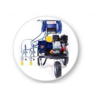 Buy cheap Spray Line Marking Machine For 2-Guns Professional Stripers , Road Painting Equipment from wholesalers