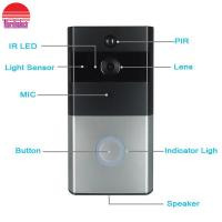 Buy cheap WiFi Door Bell Camera Mobile phone App Remote monitor Wireless video Doorbell from wholesalers