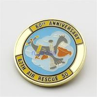 Buy cheap Personalized hard commemorative coins, custom-made color printing metal coins, custom made of hard enamel metal coins from wholesalers
