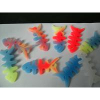 Buy cheap Colorful Non-toxic Fish Bone Silicone Cable Winder, Earphone Coil Device from wholesalers