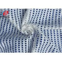 Buy cheap Lining Polyester White Big Hole Sport Mesh Fabrics For Clothing from wholesalers