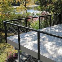 China High standard handrails for outdoor steps / terrace cable railings /Wire Staircase Balustrade on sale