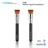 Buy cheap Flat Foundation ISO9001 Makeup Kabuki Brush For Face from wholesalers