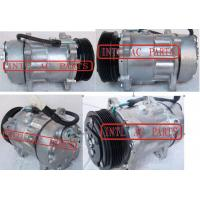 Buy cheap SD7V16 Compressor For PEUGEOT 206 306 406 605 607 806 Boxer Expert Partner 1989-2007 6453TJ  SD7V16-1227 1218 6453L5 from wholesalers