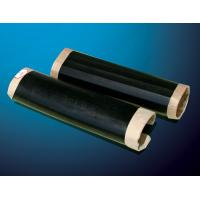 Buy cheap Black color Polyethylene Heat shrinkable sleeves with epoxy resin coating primer and closure patch for the pipe joints from wholesalers