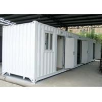 Buy cheap Custom Portable Shipping Container Homes Portable Temporary Housing from wholesalers