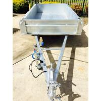 Buy cheap Fully Hot Dipped Galvanised Single Axle Trailer With Brake or Without Brake from wholesalers
