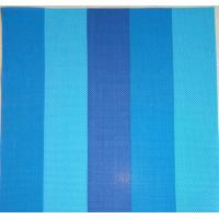 Buy cheap blue strip-type plastic outdoor sunshade mesh fabric from wholesalers