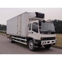 Buy cheap China good price ISUZU 4*2 LHD cold room truck for sale, factory sale best price Japan ISUZU 10tons refrigerated truck from wholesalers
