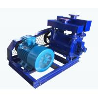 Buy cheap Single Stage Water Vacuum Pump , Liquid Suction Pump Single Role Belt Drive from wholesalers