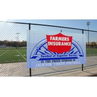 Buy cheap Digital Printing PVC Mesh Fencing 1000x1000 12x12 270g Outdoor Advertisement from wholesalers