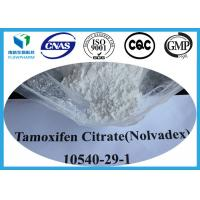 Buy cheap Tamoxifen Citrate Nolvadex Powder Anti Estrogen Steroids For Breast Cancer , CAS 54965-24-1 from wholesalers