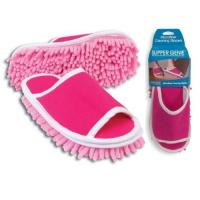 Buy cheap Housewares Evriholder Slipper Genie Microfiber Cleaning Slippers product
