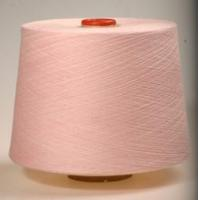 Pure cotton dyed yarn