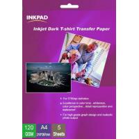 Buy cheap Black T-shirt Transfer paper 120gsm from wholesalers