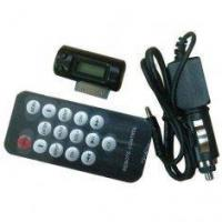 Buy cheap Mobile Phone Car Kit FM Transmitter from wholesalers