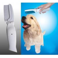 Buy cheap Electronic Flea Killer Zapper Comb Brush for pet from wholesalers