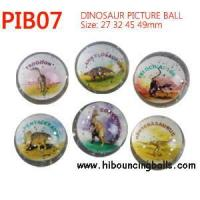 Buy cheap Dinosaur picture bounce balls from wholesalers