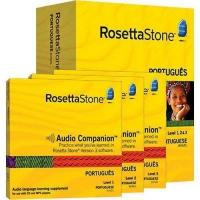 Buy cheap Rosetta Stone Version 3: Portuguese Level 1, 2 & 3 Set with Audi product