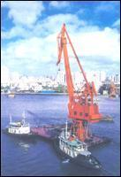 Buy cheap Floating Crane product