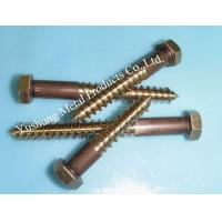 Buy cheap Silicon bronze lag bolts from wholesalers