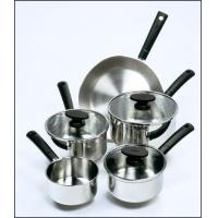 Buy cheap Tefal Essencia 5 Piece Stainless Steel Pan Set from wholesalers