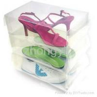 Buy cheap PP shoe storage boxes from wholesalers