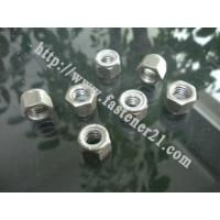 Buy cheap Carriage Bolts Nylon Lock Nuts from wholesalers