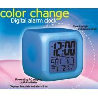 Buy cheap MHK-C100 Aurora Colour Changing LED Alarm Clock product