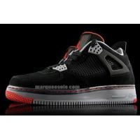 Buy cheap Air Jordan Force Fusion 4 Black Varsity Red Cement Gray product