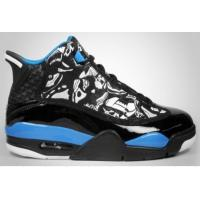 Buy cheap Air Jordan 4.5 Dub Zero Black Laser Blue White from wholesalers
