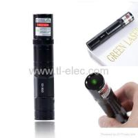 Buy cheap Green laser pointer 200mW 532nm Torch Design Using 1xCR123A battery from wholesalers