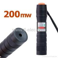 Buy cheap Green Laser Pointer 200mW 532nm Torch Design Adjustable Spot Size (10-50) from wholesalers