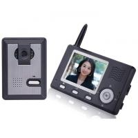Buy cheap Video Door Phone 2.4GHz Digital Wireless - 3.5 inch TFT 320*240 300M Effective R from wholesalers