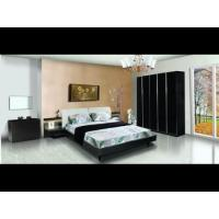 Buy cheap Black wood girl modern sleigh bedroom furniture sets from wholesalers