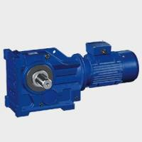 Buy cheap K series helical bevel gear speed reducer from wholesalers