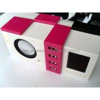 Buy cheap Mini Speaker with USB 4-port Hub UH916 from wholesalers