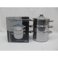 Buy cheap Closeout 3 Tier Stainless Steel Steamer from wholesalers