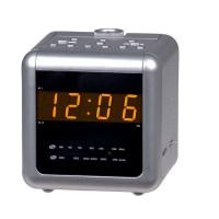 Buy cheap RADIO AM/FM dual alarm projection clock radio with 0.9inches amber LED display, natural sound and aux-in function Model:E-C171 from wholesalers