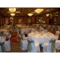Buy cheap chair cover organza sash from wholesalers