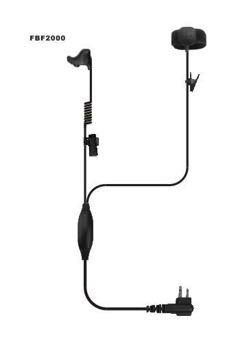 Quality Ear Bone MIC with Finger PTT for sale