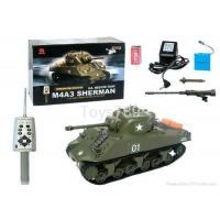 Buy cheap R/C Toys M4A3 Sherman 1/30 Scale Radio Remote Controlled RC Battle Tank RTR from wholesalers