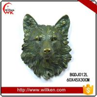 Buy cheap Animal Statues Wall mounted polyresin decorative artificial eagle from wholesalers